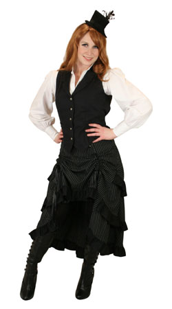 Victorian,Old West,Steampunk, Ladies Outfits Saloon Staff,Performers |Antique, Vintage, Old Fashioned, Wedding, Theatrical, Reenacting Costume |