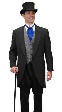 Victorian, Mens Outfits Professionals,Tycoons  Antique, Vintage, Old Fashioned, Wedding, Theatrical, Reenacting Costume  