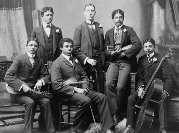 1890s Musical Ensemble