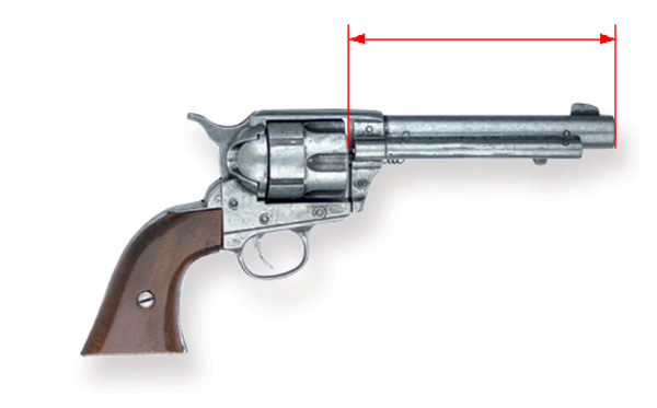 revolver barrel measurement