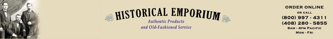 Historical Emporium 800-997-4311