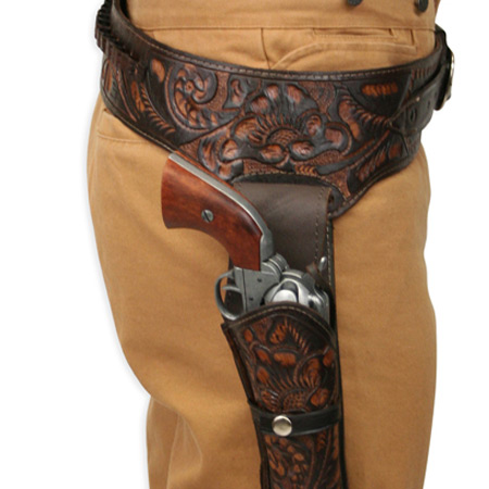 Mens Old West Gun Leather
