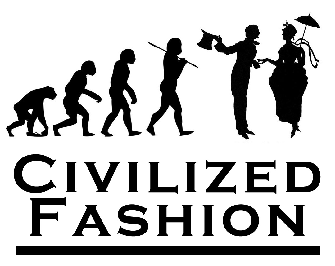 Civilized Fashion Blog Logo