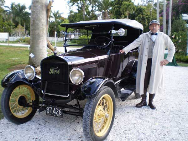 Customer photos wearing Driving Miss Daisy Model T Style