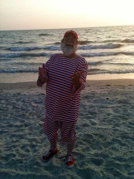 Customer photos wearing Santa Takes a Holiday