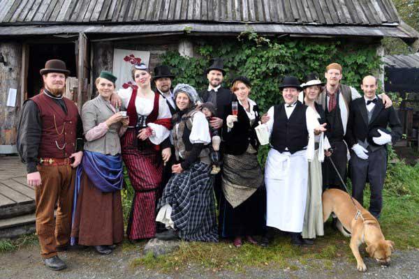 Customer photos wearing Sweden goes Steampunk