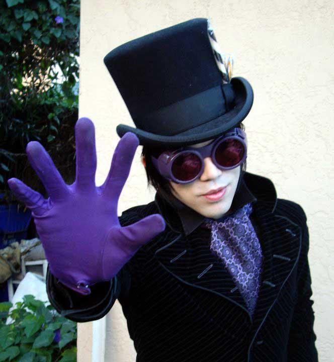Customer photos wearing Wonka 2.0