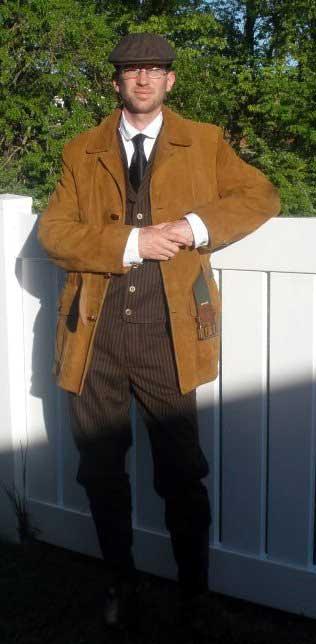 Customer photos wearing Edwardian Man of Action