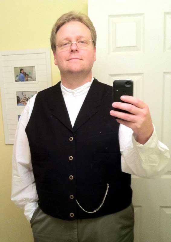 Customer photos wearing Sunday go to Meetin' Clothes