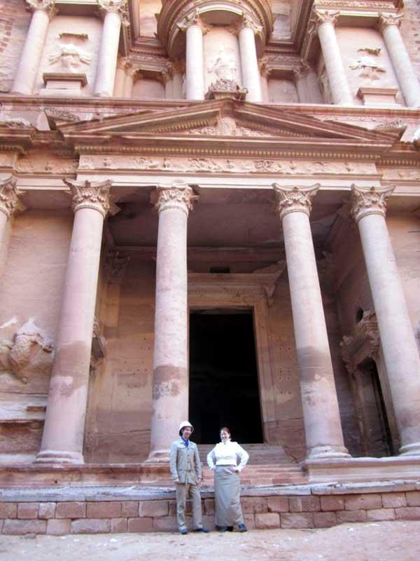 Customer photos wearing Victorian Adventures in Petra