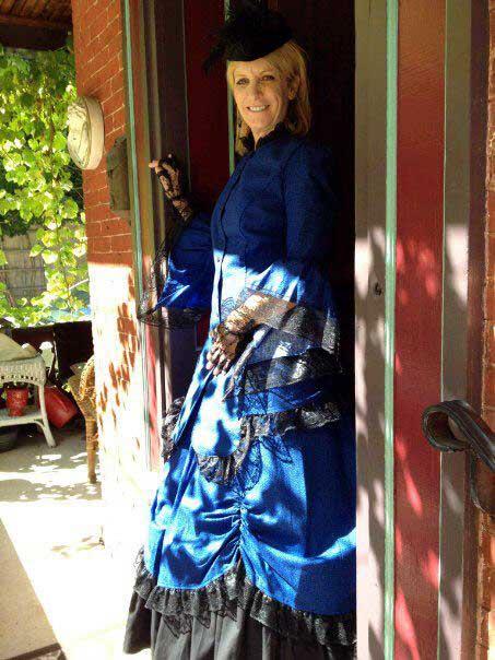 Customer photos wearing Beautiful in Blue