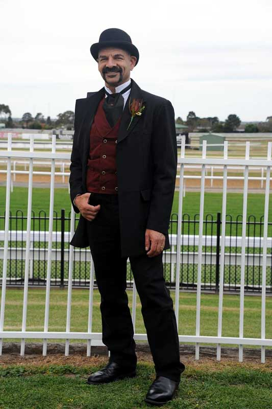 Customer photos wearing At the Races