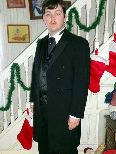Customer photos wearing Victorian Christmas