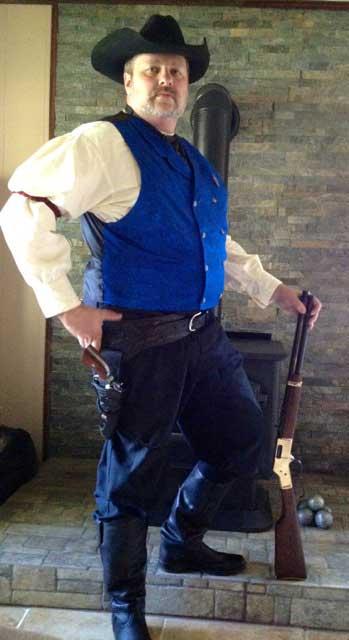 Customer photos wearing Everyday Cowboy