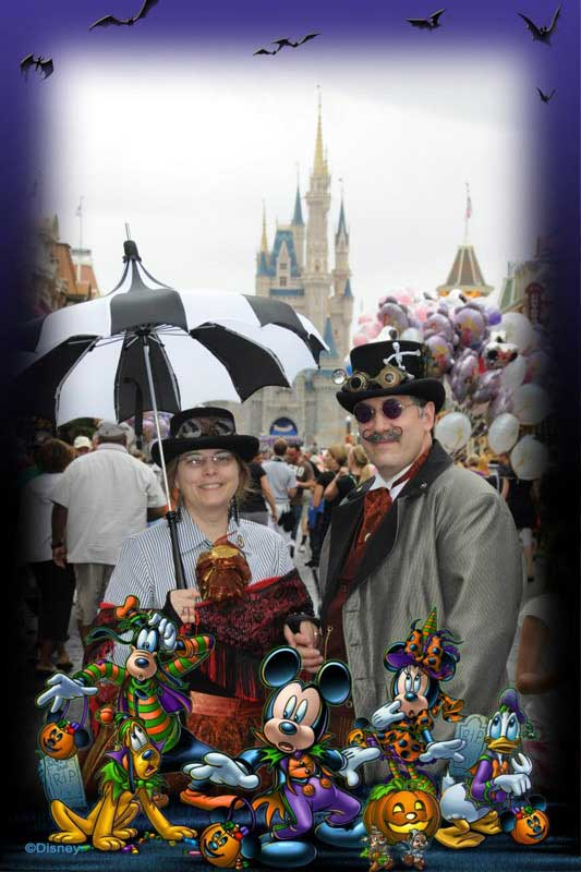 Customer photos wearing Not Cast Members, (but it's hard to tell!)