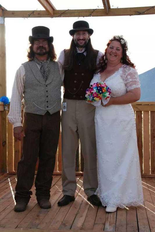 Customer photos wearing Best Friend's Wedding