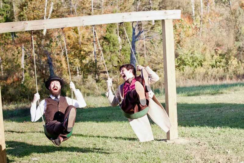 Customer photos wearing [Editors Pick] Never too Old for a Swingset