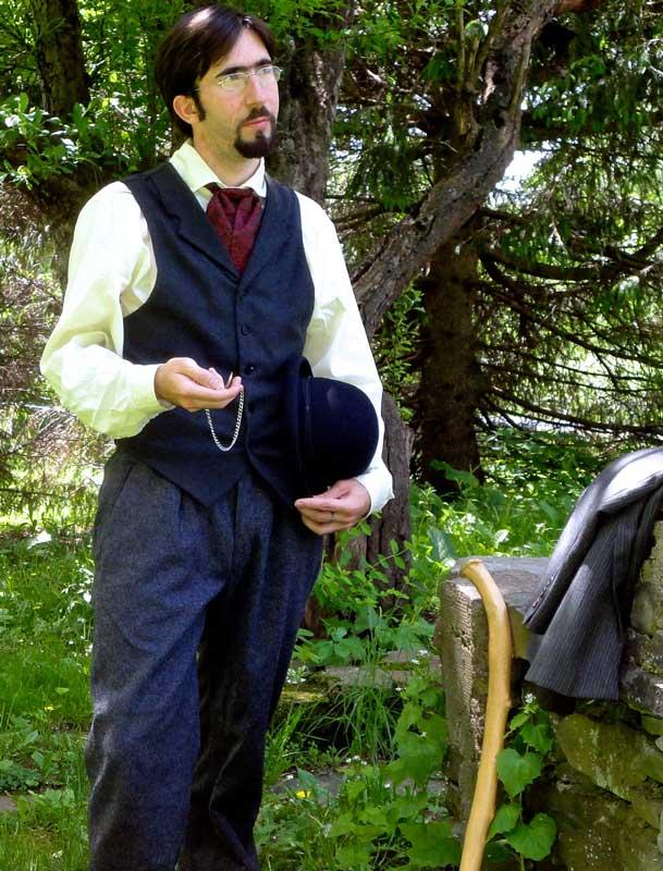 Customer photos wearing A Traditional Gentleman