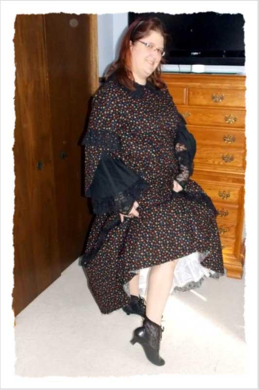 Customer photos wearing Ladylike Finishes