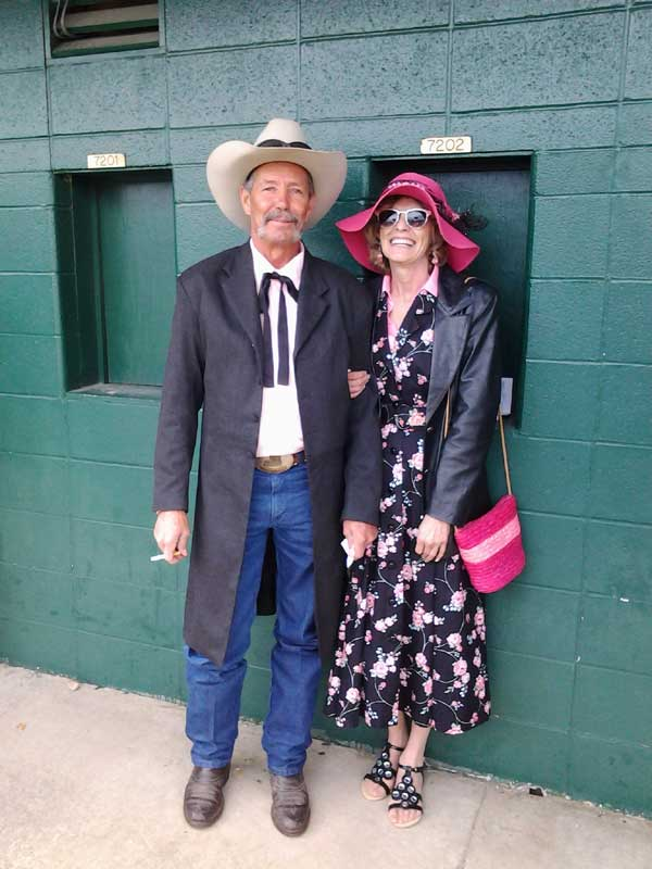 Customer photos wearing To the Races