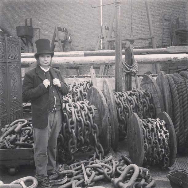 Customer photos wearing [Editors Pick] Brunel is Back!