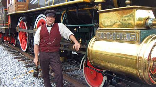 Customer photos wearing Steaming into History