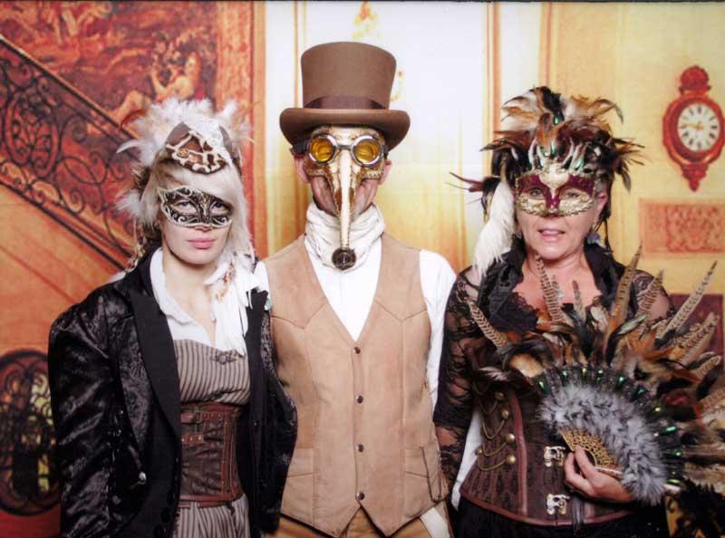 Customer photos wearing Masquerade in Style