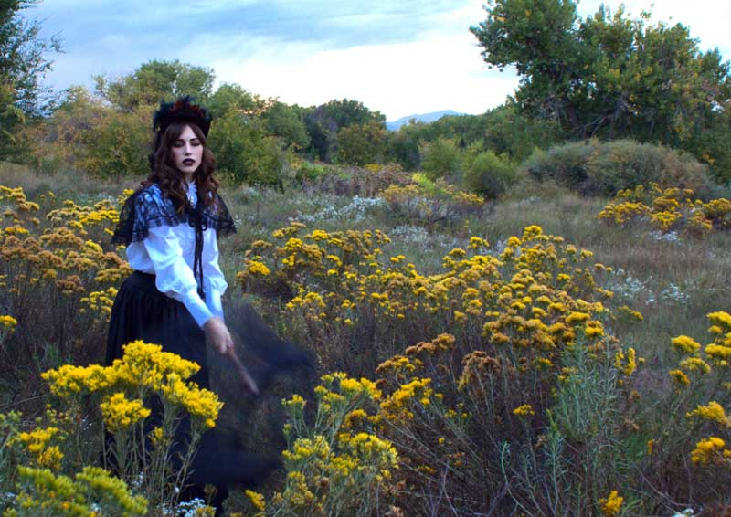 Customer photos wearing Wildflowers abound
