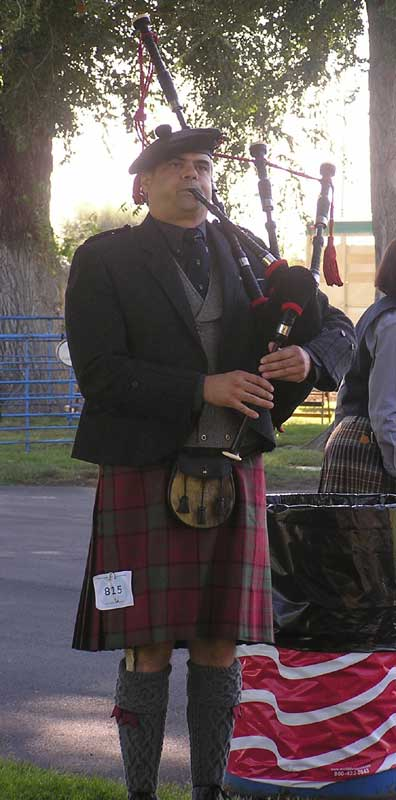 Customer photos wearing One Piper Piping