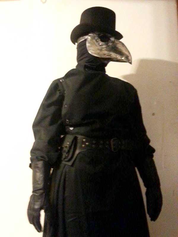 Customer photos wearing A Plague Upon Your House