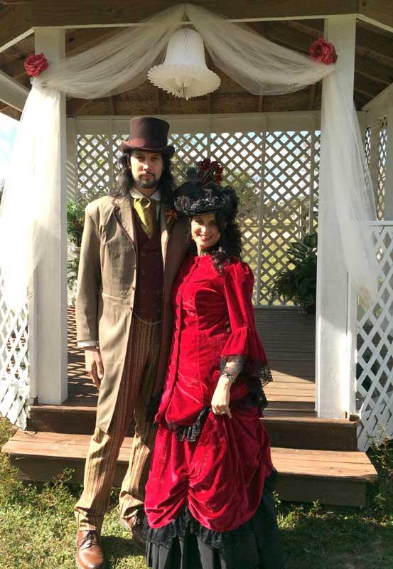 Customer photos wearing [Editors Pick] Vintage Matrimony
