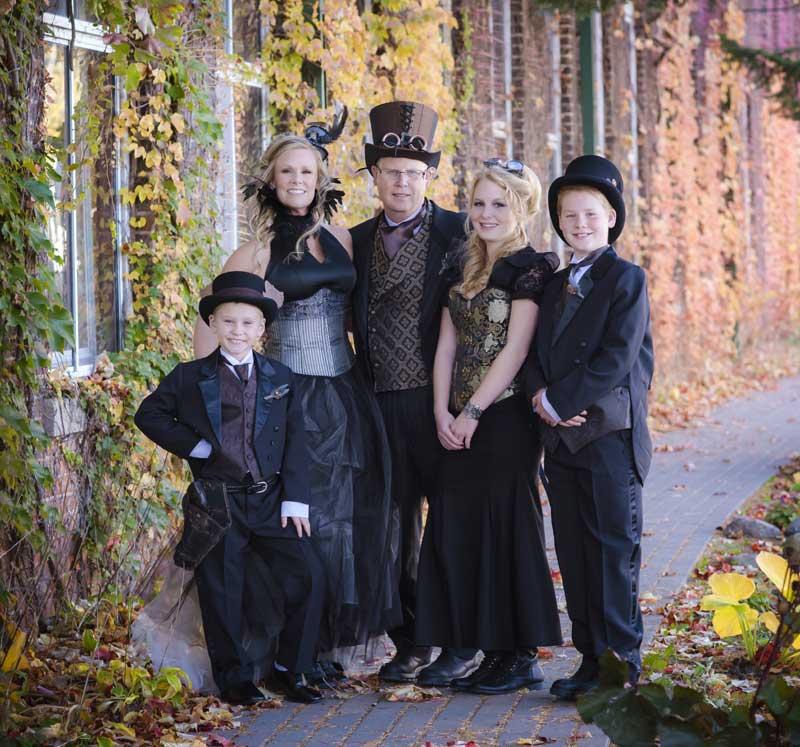 Customer photos wearing A Fashionable Family