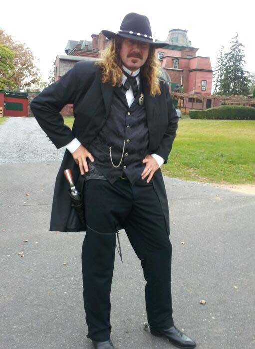 Customer photos wearing Not the Sheriff of Nottingham