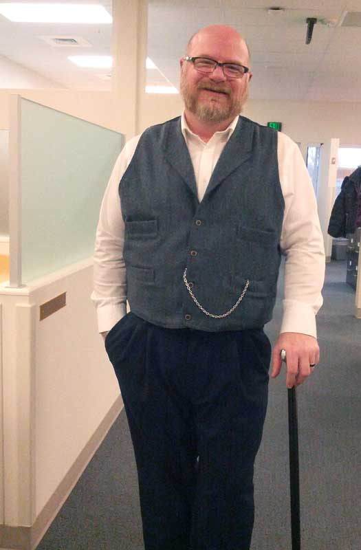 Customer photos wearing Business Casual, Victorian Style
