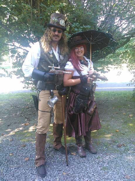 Customer photos wearing Steampunk Renaissance