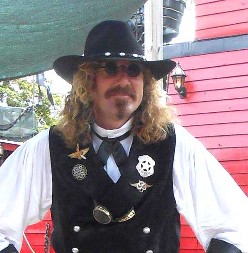 Customer photos wearing Laying Down the Law at the Ren Faire