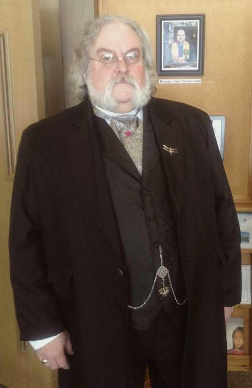 Customer photos wearing Dr. Derwood Ginton - Dressed to impress
