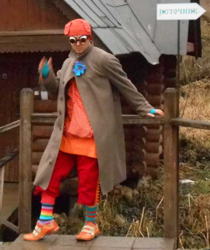 Customer photos wearing Clowning Around