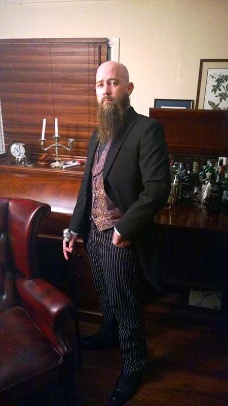 Customer photos wearing A Gentlemen's Club