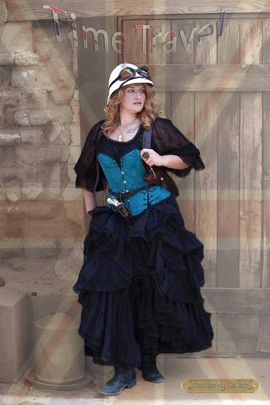 Customer photos wearing Time Traveling Mistress