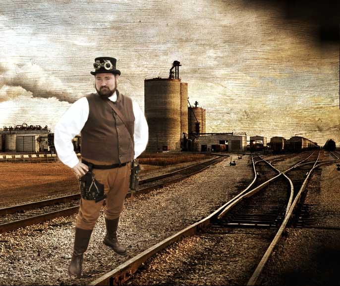 Customer photos wearing Railroad Baron