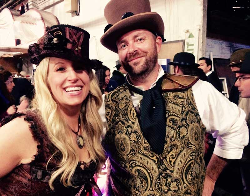 Customer photos wearing Steampunkers Unmasked!