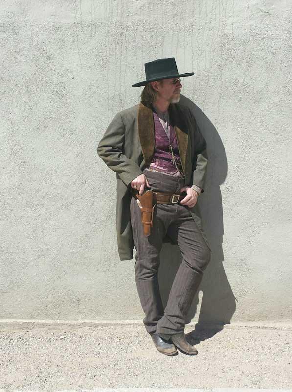 Customer photos wearing Gunslinger for Hire