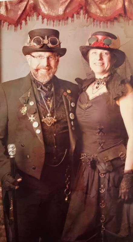 Customer photos wearing Decorated Fairgoers!
