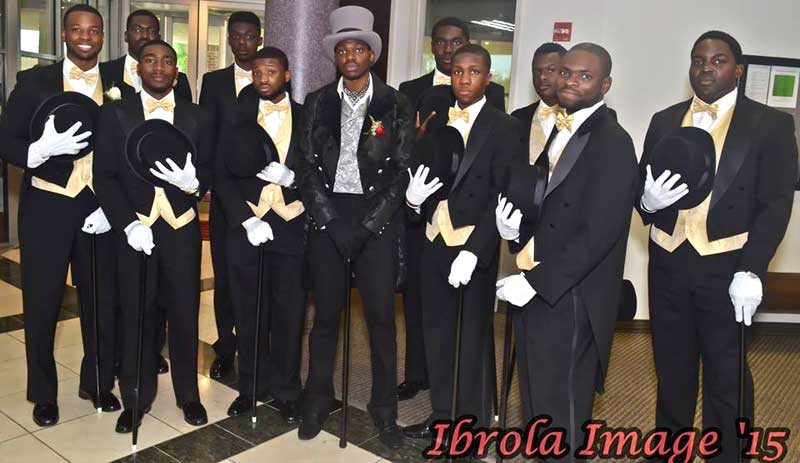 Customer photos wearing The Noble Groom's Party