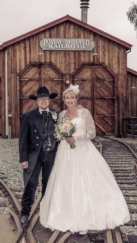 Customer photos wearing [Editors Pick] Railroads and Weddings