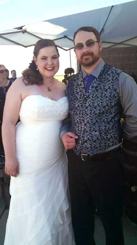 Customer photos wearing Sharp New Couple