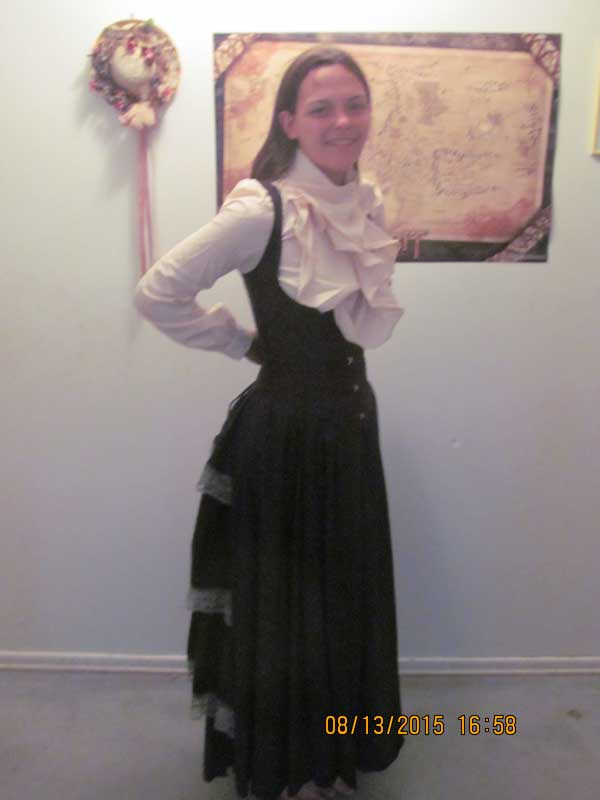 Customer photos wearing Victorian Education