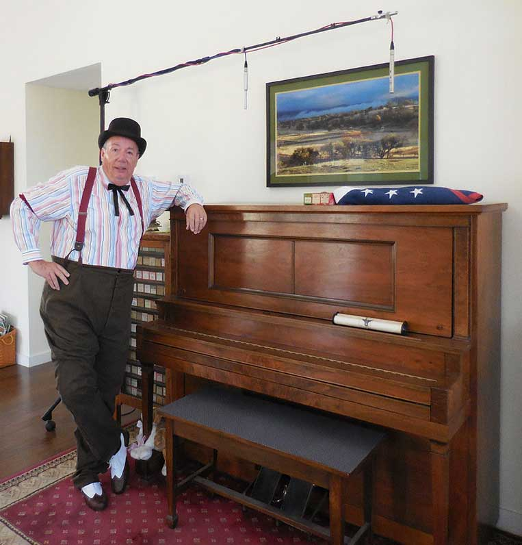 Customer photos wearing Piano Man