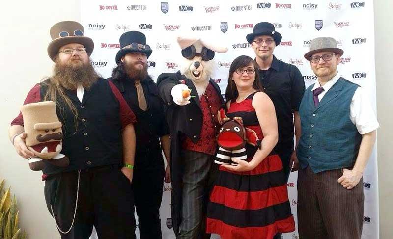 Customer photos wearing The Velveteen Band